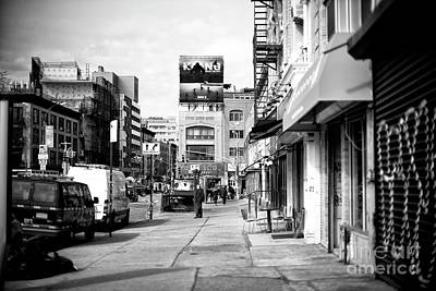 Photograph - King Kong In The Bowery by John Rizzuto
