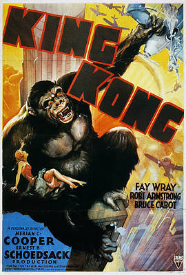 Photograph - King Kong Poster, 1933 by Granger