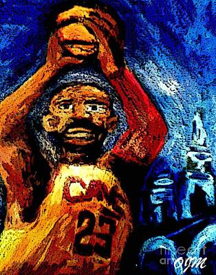 King Lebron James Original by Owen McCafferty
