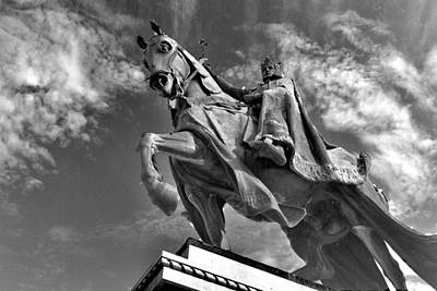 Photograph - King Louis Ix by George Taylor