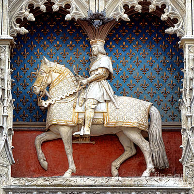 Photograph - King Louis Xii by Olivier Le Queinec