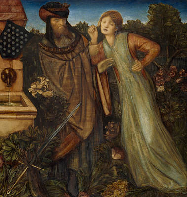 Arthurian Painting - King Mark And La Belle Iseult  by Edward Burne-Jones