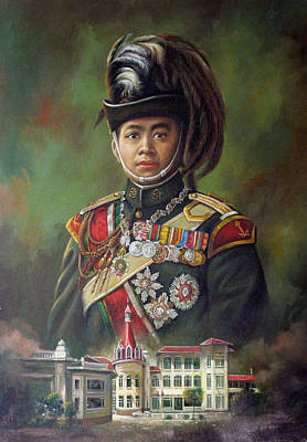 Painting - King Mongkut by Chonkhet Phanwichien