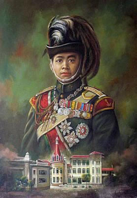King Mongkut Art Print