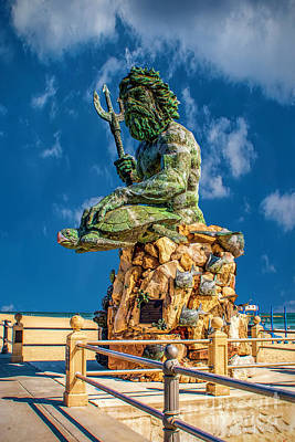 Photograph - King Neptune by Nick Zelinsky