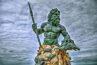Photograph - King Neptune by Pete Federico