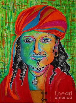 Painting - King O' The Pirates by Jayne Somogy