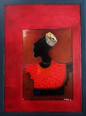 Painting - King Obah by Adalardo Nunciato  Santiago