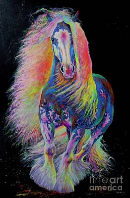 Painting - King Of Colours by Louise Green