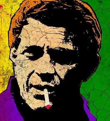 Counterculture Painting - King Of Cool 2 by Otis Porritt