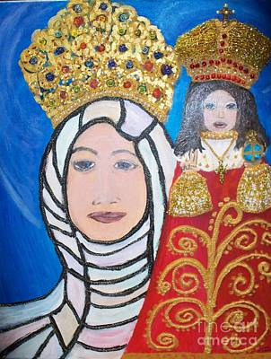 Prague Mixed Media - King Of Kings And The Queen Mother by Seaux-N-Seau Soileau