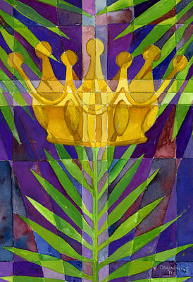 Palm Sunday Painting - King Of Kings by Mark Jennings