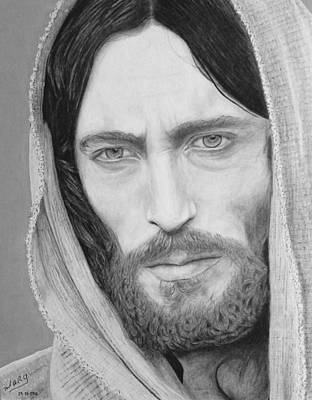 Drawing - King Of Kings by Miguel Rodriguez