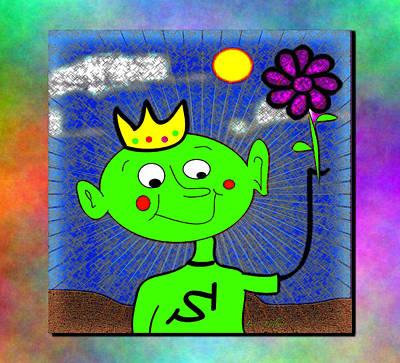 Digital Art - King Of Summer by Iris Gelbart