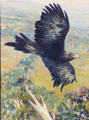 King Of The Air Art Print by Ekaterina Mortensen