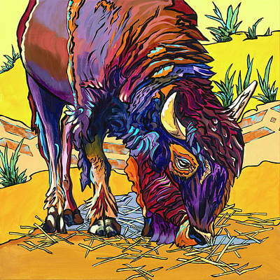 Painting - King Of The American Plains by Alexandria Winslow
