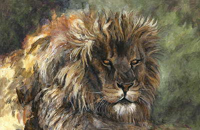 King Of Beasts Painting - King Of The Beasts by Leisa Temple