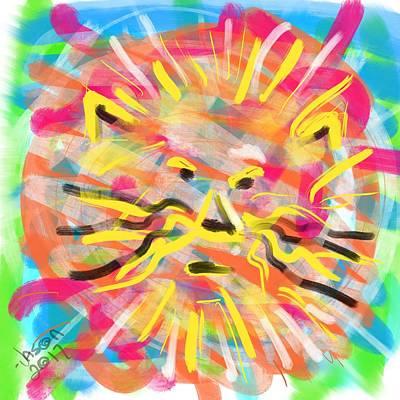 Digital Art - King Of The Jungle by Jason Nicholas