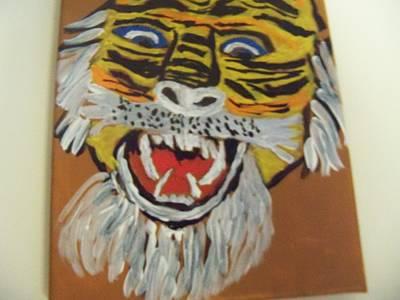 King Of The Jungle Art Print by Rhonda Jackson