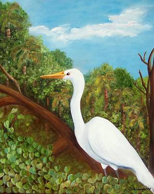Painting - King Of The Marsh by Susan Dehlinger