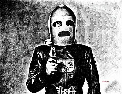 King Of The Rocketmen Art Print by Don Barrett