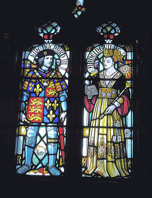Photograph - King Richard 3rd And Queen Anne Neville by Carl Purcell