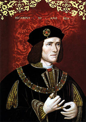 British Royalty Painting - King Richard IIi Of England by War Is Hell Store
