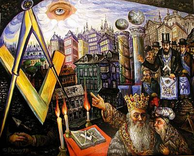 Painting - King Solomon's Vision by Ari Roussimoff