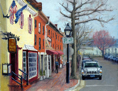 Painting - King Street by Armand Cabrera