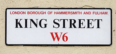 Photograph - King Street W6 London Borough Of Hammersmith And Fulham by Jacek Wojnarowski