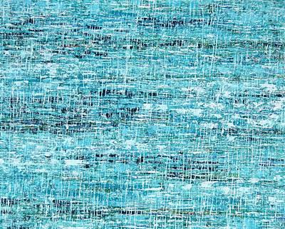 Painting - King Tide by Elizabeth Langreiter