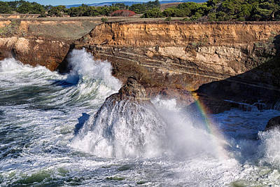 Photograph - King Tide Rainbow by Kathleen Bishop