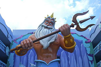Photograph - King Triton by Denise Mazzocco