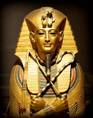Photograph - King Tut by AJ Schibig