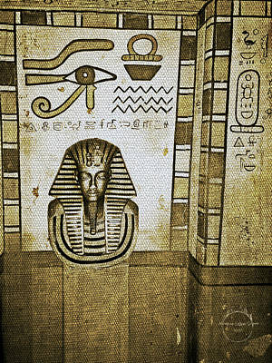 King Tut - Egyptian Dynasty Art Print