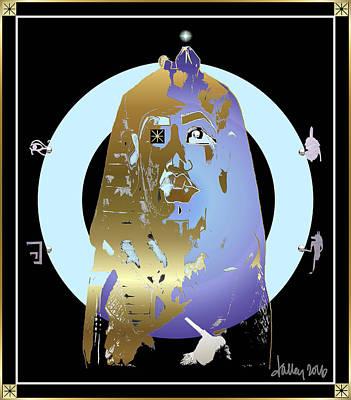 Digital Art - King Tut by Larry Talley