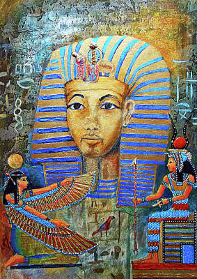 King Tut Painting - King Tut by Michael Durst
