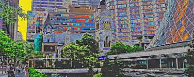 Digital Art - King West Looking East by Ian  MacDonald
