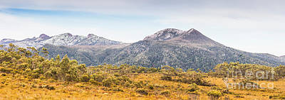 King William Range. Australia Mountain Panorama Art Print