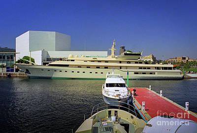 Photograph - Kingdom 5kr Superyacht  by David Zanzinger