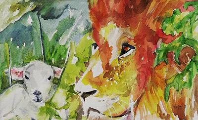 Kingdom Of Peace Art Print by Nana Gale Van