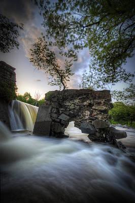 Digital Art - Kingfield Dam II by Patrick Groleau