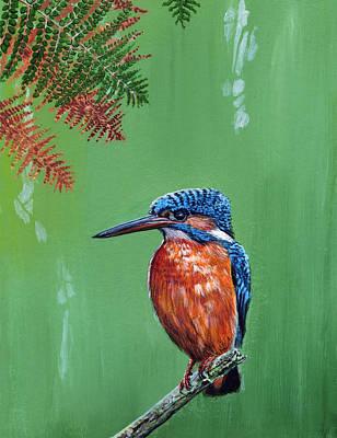 Pop Art - Kingfisher by Arie Van der Wijst