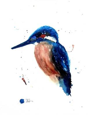 Painting - Kingfisher II by Ruth Trinczek