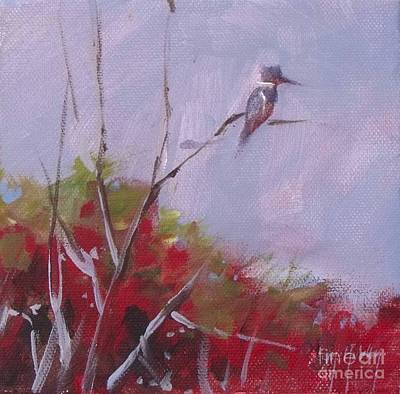 Kingfisher Original by Mary Hubley