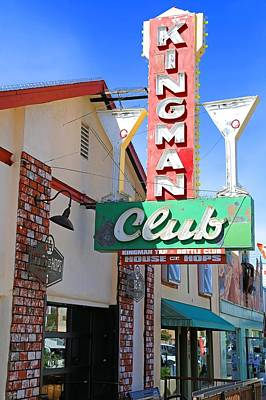 Hop Photograph - Kingman Club by Donna Kennedy