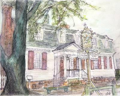 Kings Arm Tavern Original by Amanda Burns-Elhassouni