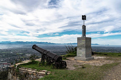 Photograph - Kings Blockhouse On Table Mountain by Steven Richman