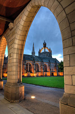 Photograph - King's College And Elphinstone Hall by Veli Bariskan