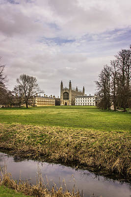 Photograph - Kings College Chapel by David Warrington